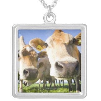 Dorset, UK Square Pendant Necklace