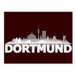 Dortmund City Skyline Postkarte Postcard