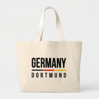 Dortmund Germany Large Tote Bag