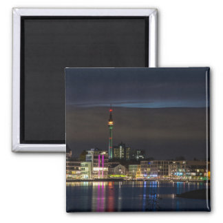 Dortmund, Germany skyline night Magnet
