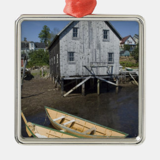 Dory builder,Lunenburg, Nova Scotia, Canada Christmas Ornament