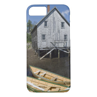 Dory builder,Lunenburg, Nova Scotia, Canada iPhone 8/7 Case