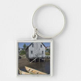 Dory builder,Lunenburg, Nova Scotia, Canada Key Ring