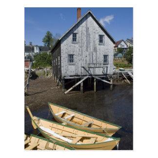 Dory builder,Lunenburg, Nova Scotia, Canada Postcard