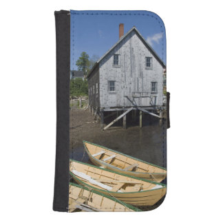 Dory builder,Lunenburg, Nova Scotia, Canada Samsung S4 Wallet Case