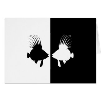 Dory (fish) greeting card