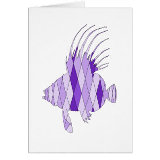 dory fish greeting card