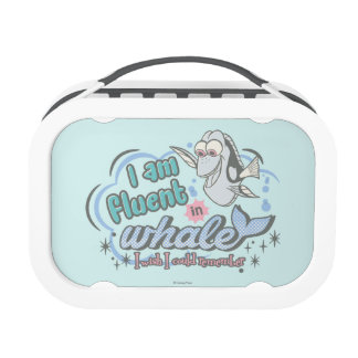 Dory | I am Fluent in Whale Comic Lunch Boxes