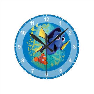 Dory & Nemo | Swim With Friends Wall Clocks