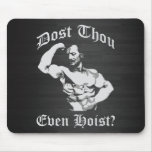 Dost Thou Even Host? Eugen Sandow - Bodybuilding Mouse Pad
