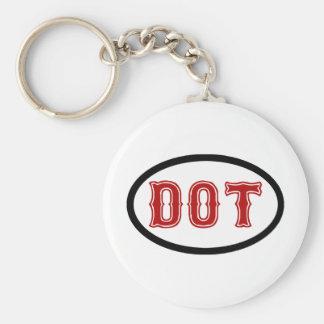 DOT City Key Ring
