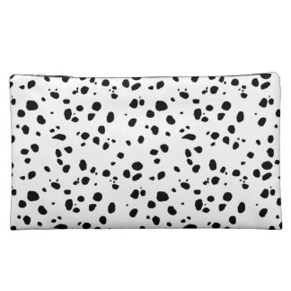 dot dot dalmatian makeup bag