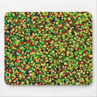 Dot Matrix: Green  Mousepad