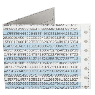 Dot Matrix Tyvek® Billfold Wallet