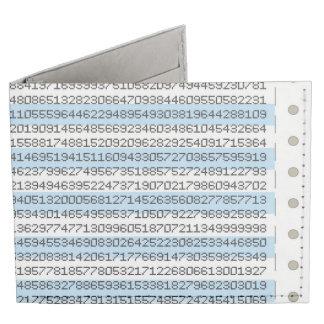 Dot Matrix Tyvek® Billfold Wallet