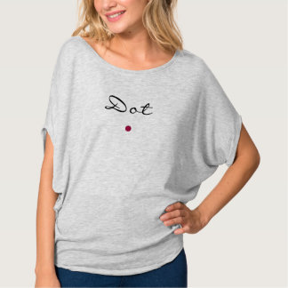 Dot not Feather T-Shirt