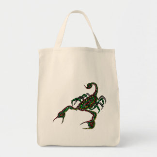 Dot painted Scorpion Tote
