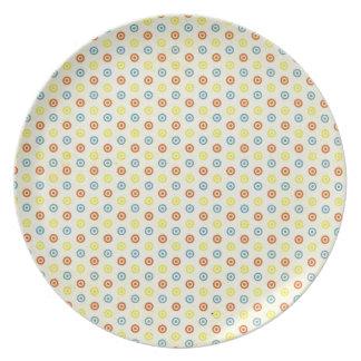 Dot print plate