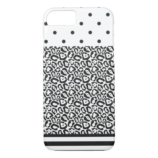 Dot Spot Stripe iPhone 8/7 cover