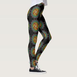 Dot Swirl Leggings