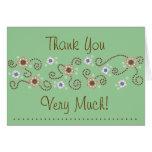 Dot Thank You Card