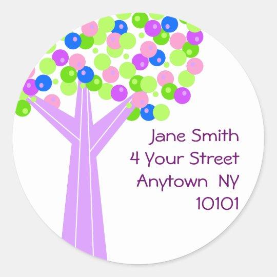 Dotberry Tree Address Label