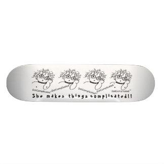 DotComplicated(TM) Skateboard
