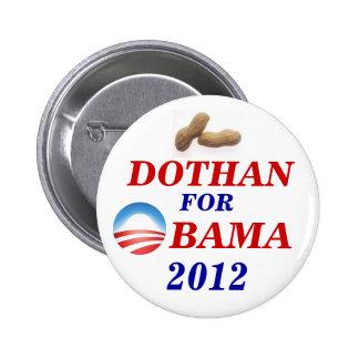 Dothan for Obama 6 Cm Round Badge