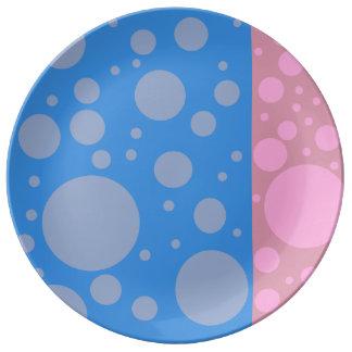 Dots 27.3 cm Decorative Porcelain Plate
