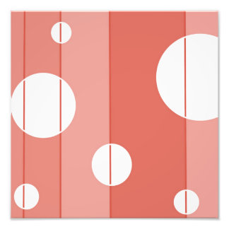 Dots and Stripes in BarnRed Photo
