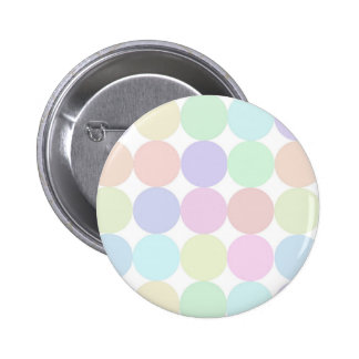 Dots colorful 6 cm round badge