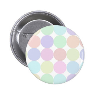 Dots colourful 6 cm round badge