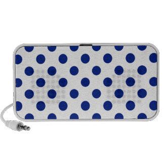 DOTS - DEEP BLUE (a polka dot design) ~ Speaker System