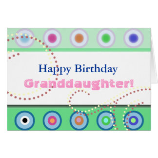 Dots Happy Birthday! Greeting Card
