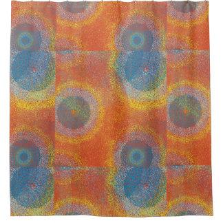 Dots Mandala Shower Curtain