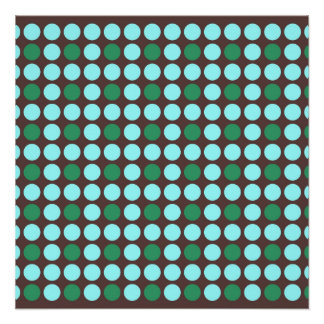 dots pattern background abstract texture circle ro poster
