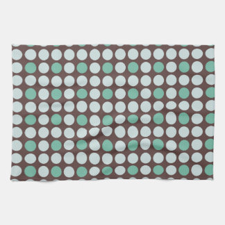 dots pattern background abstract texture circle ro tea towel