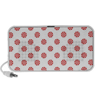 DOTS - PEPPERMINT CANDY (a polka dot design) ~ Laptop Speakers