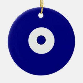 Dots Round Ceramic Decoration