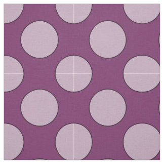 Dots seamless pattern white transp. & contour fabric