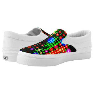 'Dot's' Settle's It! -  Unisex Slip On's Printed Shoes