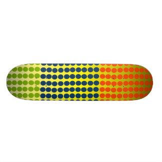 Dots - 20 cm skateboard deck
