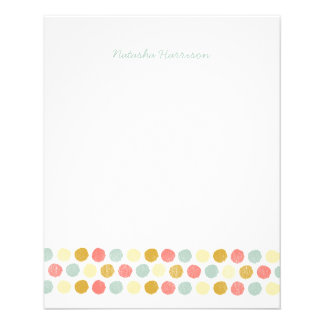 Dots Stationery for Girls 11.5 Cm X 14 Cm Flyer
