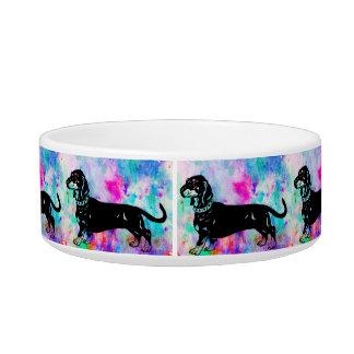 Dotson designed dog bowl