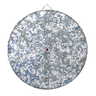 Dotted Background Dartboard