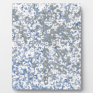 Dotted Background Plaque