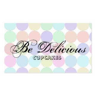 dotted Double-Sided standard business cards (Pack of 100)