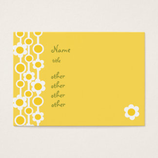 Dotted Daisies No.1 Business Card