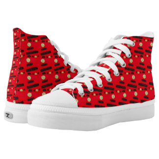 Dotted High Tops