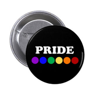 Dotted Rainbow Gay Pride Flag Pin-back Button